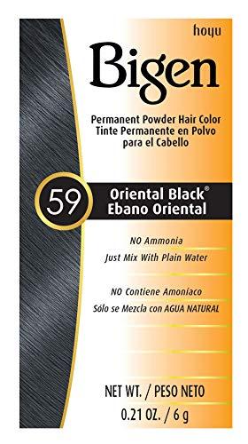 #59 Oriental Black Bigen Permanent Powder - 6 Pack