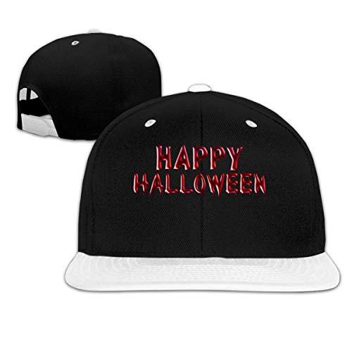 Lsjuee Happy Halloween 3 Gorra de bisbol de Hip Hop Unisex Popular