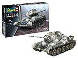 Revell - 03319 T-34/85 Tanque Ruso Kit de Modelo, Escala 1:35