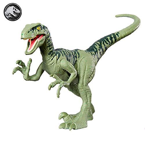 Jurassic World Dinosaurios de Ataque, Velociraptor Charlie dinosaurio de juguete (Mattel GFM06)