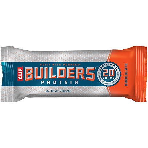 Bar Clif Bar Builder, chocolate, barras de 2.4 onzas, 12