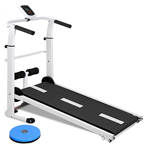 Read About DLT Fold Treadmills Running Exercise Machine for Home Gym, LCD Display 95cmx33cm Treadmil...