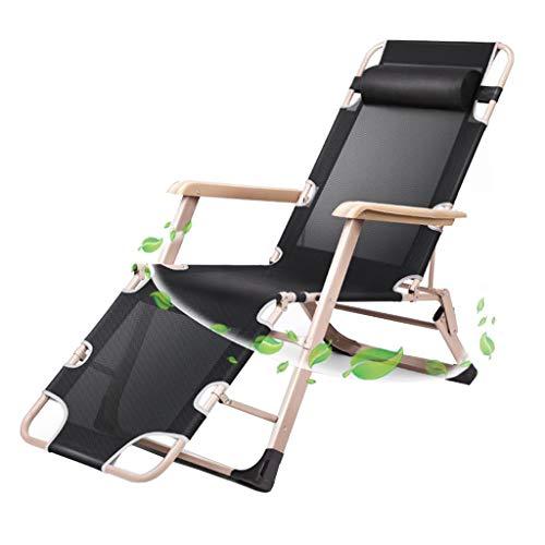 LIYIN-Barstool Tumbona Ajustable Extra Ancha Silla reclinable para tumbonas de Playa Tejido de Textil Tejido cómodo y Transpirable Portabilidad Ligera Sin ensamblaje