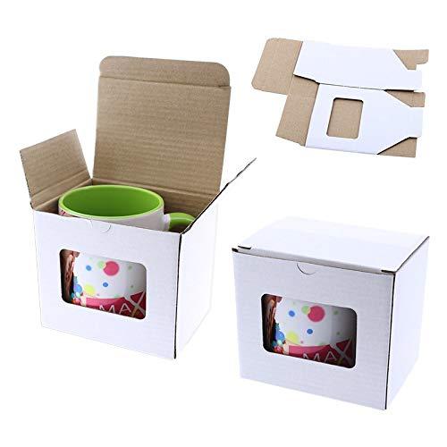 Grupo K-2 Caja De Cartón Para Tazas Con Ventana