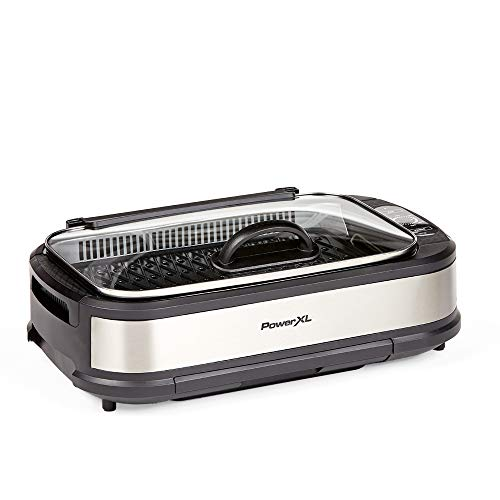 PowerXL Smokeless Grill with Tempered Glass