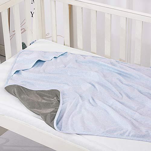 EMF Protective Belly Pregnancy Baby Blanket, Organic, Anti-Radiation, Blue, 36'x30'