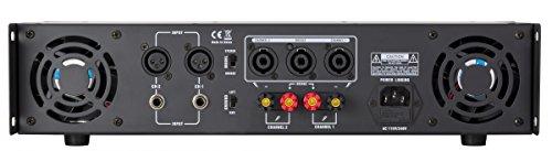 Gemini XGA Series XGA-5000 Professional Quality PA System DJ Equipment Power Amplifier with 5000 Watt Instant Peak Power