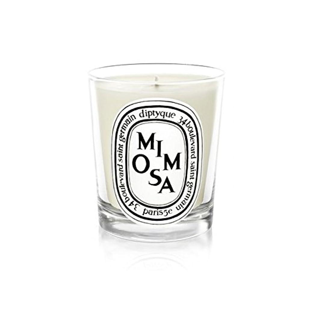乞食動脈カウントアップDiptyque Candle Mimosa / Mimosa 190g (Pack of 2) - Diptyqueキャンドルミモザ/ミモザ190グラム (x2) [並行輸入品]