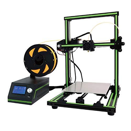 Z.L.FFLZ Imprimante 3D Installation modulaire de Cadre en Aluminium multilingue réglé d'imprimante E10 3D DIY avec Le résumé