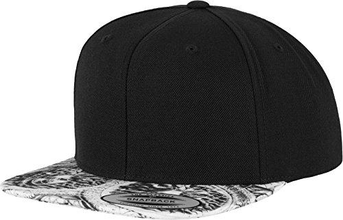 Flexfit Sun King Snapback Kappe, blk/Wht, one Size