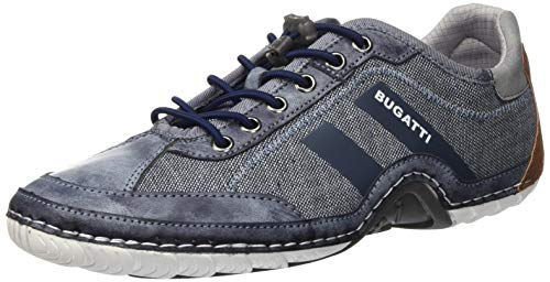bugatti Herren 321924026900 Sneaker, Blau, 43 EU