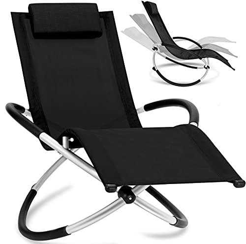 KESSER® Relaxliege Liegestuhl | Gartenliege | Gartenstuhl | Klappstuhl faltbar...