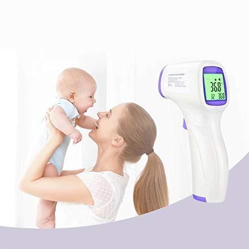 LYC&LJM Niet-contact Voorhoofd Temperatuur pistool, Handheld Elektronische Thermometer Met LCD Display en Infrarood Sensor Ontwerp, Geschikt voor Volwassen Baby's (32-42.5 °C)