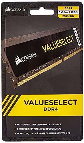 Corsair ValueSelect 16GB DDR4 2133 Module de mémoire 16 Go 1 x 16 Go 2133 MHz