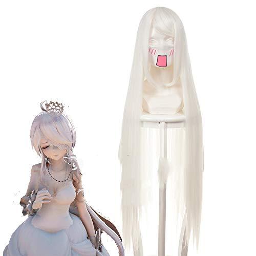 Rozen Maiden Mercury Lampe Sui Gin Tou Cosplay peluca recta larga resistente al calor pelo anime disfraz Pelucas Kuzz038Q