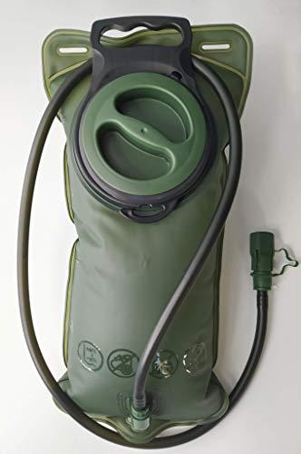 41degrees. Bolsa de Agua para Mochila Deportiva. Depósito de 2L de TPU Libre de BPA. Bolsa de Hidratación para Ciclismo, Camping, Senderismo o Trail. Verde