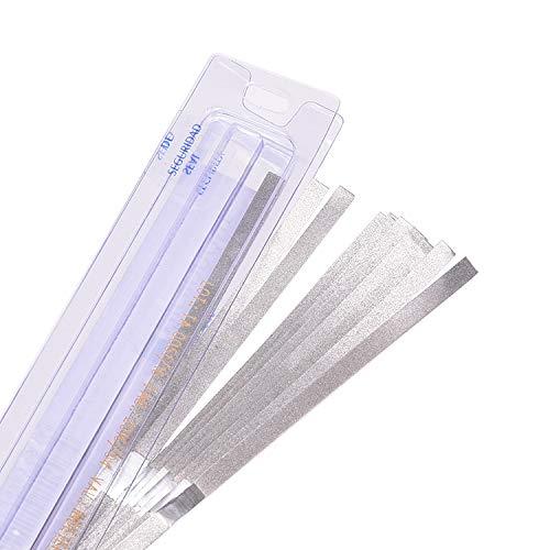 12PCS Dental Finishing Polishing Strips, Double Side Burnishing Sticks