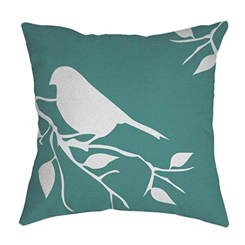 Mamum Housses de Coussin Vintage, Linen géométrique Throw Pillow Case Home Decor (Vert)