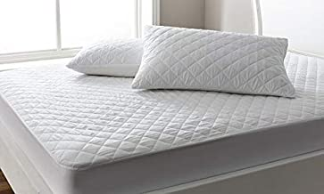 Supersoft Quilted Pillow, 50 x 75 cm Cotton King, White, W 22.3 x H 15.8 x L 5.4 cm