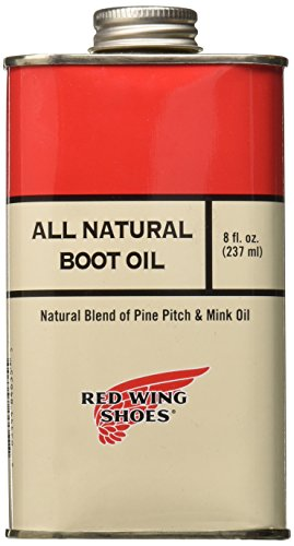 Red Wing Heritage All Natural Boot Oil, Clear, 8 ounce