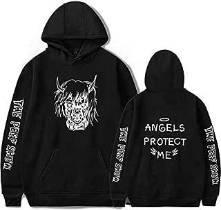 Lil Peep ANGELS PROTECT ME Hoodie Unisex Fashion Print Hoodie Sweatshirt Tops-XL
