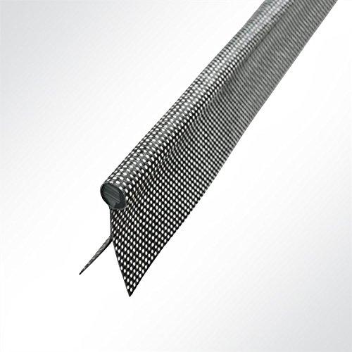 LYSEL Kederband 7,50mm doppelfahnig anthrazitgrau, (L) 5m
