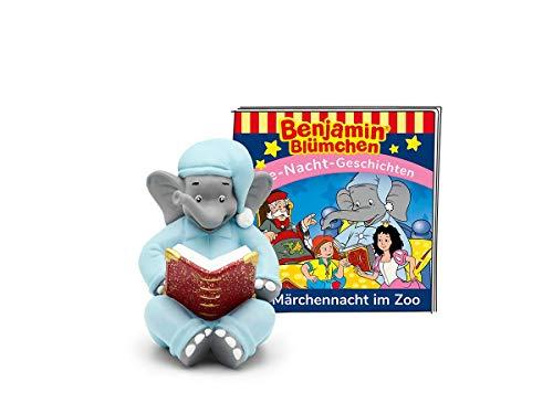 tonies Hörfiguren für Toniebox: Benjamin BLÜMCHEN Hörspiel - Märchennacht im Zoo - Gute Nacht Geschichten und Lieder Figur - ca. 44 Min - ab 3 Jahre - DEUTSCH