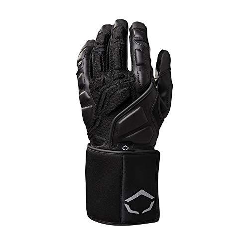 Wilson Unisex's EVO TRENCH LINEMAN GLV BL M Gloves, Black, M