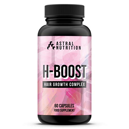 H-Boost Hair Growth Pills - 1 Month Supply | Promotes Rapid Hair Growth | Strengthens & Prevents Breakage | Nourishes Hair From Within | Improves Skin & Nail Health