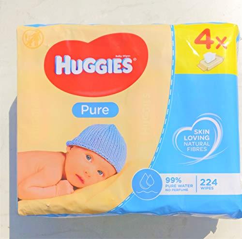 Huggies - HUGGIES Nouvelles Lingettes Pure (4x56)