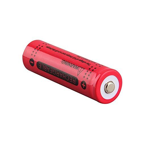 HOBBIX Batería Li Ion De 3.7v 12000mah 18650, Recargable para El Banco PortáTil del Poder del Led De La Linterna del Led 2pcs