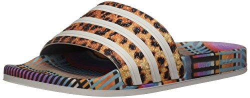 adidas Originals Women's Adilette Sneaker, Supplier Colour, FTWR White, Supplier Colour, 11 M US