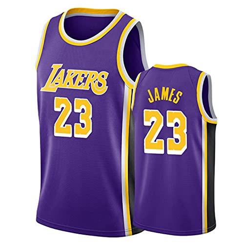 James # 23 Camisa de Baloncesto, 90s Hip-Hop Party Men's Basketball Uniform, Space Movie Jersey, S-XXL. Niños/Uniformes de Baloncesto Juvenil 1-S