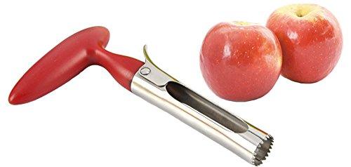 Magiböes Rouge Fruit Talker Pomme Couteau obstspalter Ampoule d'affûtage Couteau Cuisine Couteau à Fruits 18 x 9,5 cm