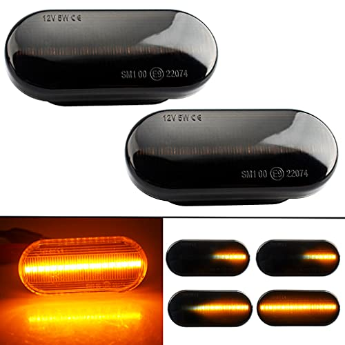 Paar Dynamische LED Seitenblinker,dynamische blinker,Linken und Rechten,für Golf 3 4 Passat 3BG Polo SB6