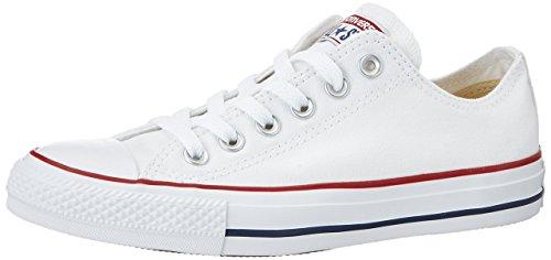 Converse Chuck Taylor All Star Tobillo Bajo, color Blanco, talla 37.5 EU...