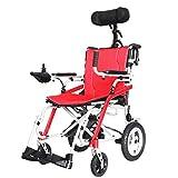 LOLRGV Elektro-Rollstuhl Tragbare Magnesium-Legierung 3 Sekunden Folding Leichte Lithium-Batterie Ältere Scooter -