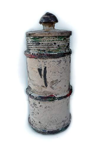 LA BOTTEGA DI CIRO Vase Raku Latte (U-0301)