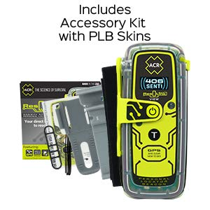 ACR ResQLink View - Buoyant Personal Locator Beacon with GPS for Hiking, Boating and All Outdoor Adventures (Model PLB 425) ACR 2922