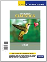 Introductory Statistics, Books a la Carte Edition (9th Edition) by Neil A. Weiss (2011-01-06)