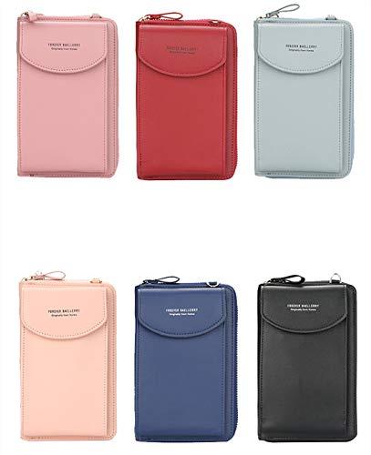 rheinwing Damen Modische Handy Tasche 6 Farben JUJUBE RED