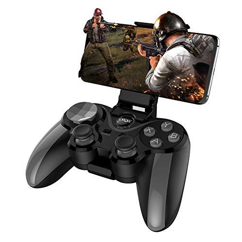 Het eten van kip gamepad Draadloze gamepad bluetooth gamecontroller voor ios android tv Joystick controller pubg controller, geeft je een andere game-ervaring,Black