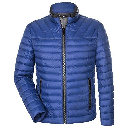 MILESTONE Herren Jacke Steppjacke Winterjacke Frederico Stehkragen Modern Fit 3M Thinsulate®-Isolierung Winddicht Wasserabweisend (48, Blau)