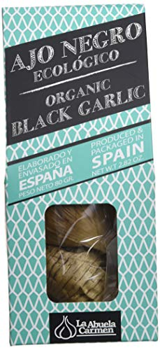 La Abuela Carmen Ajo Negro Ecológico, 80 g (Paquete de 1), 345