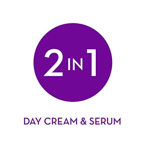 Olay Face Serum by Age Defying Anti-Wrinkle 2-in-1 Day Cream Plus Face Serum, Aloe Vera, 1.7 Fl Oz