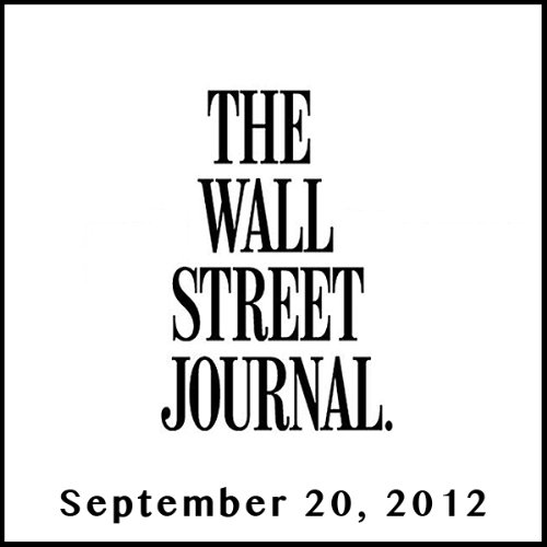 The Morning Read from The Wall Street Journal, September 20, 2012 copertina