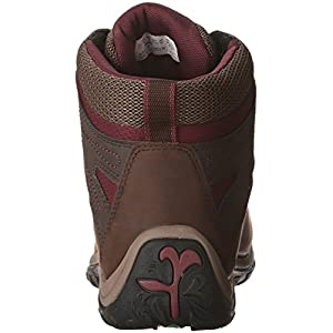 Timberland Women's Norwood Mid Waterproof Hiking Boot, Dark Brown, 9 Medium US