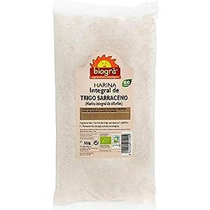 Biográ Harina De Trigo Sarraceno Integral Biogra Bio 500G Envase De 500 Gramos Biográ 400 g