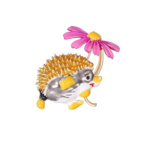 Novedad joyería para mujer| Gato de dibujos animados taza de café Broche bolsa sombreros solapa esmalte pintura Pin ropa insignia regalo - 1