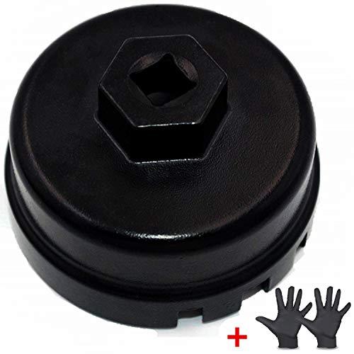 Ease2u Oil Filter Wrench for Lexus Toyota Scion Fits Prius/Prius V/Corolla/Matrix, CT200h, Scion iM/iQ/xD with 1.8 Liter